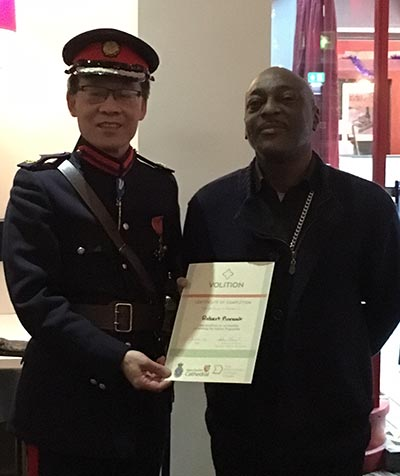 Volition meet the High Sheriff of Greater Manchester