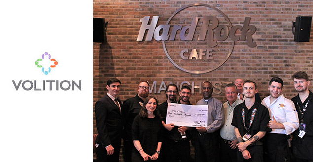 Hard Rock Cafe raise 1K for Volition