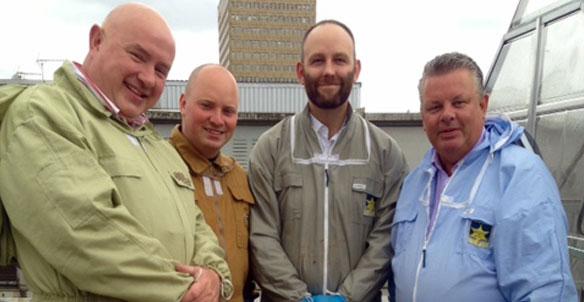 Salford Mayor Visits Volition